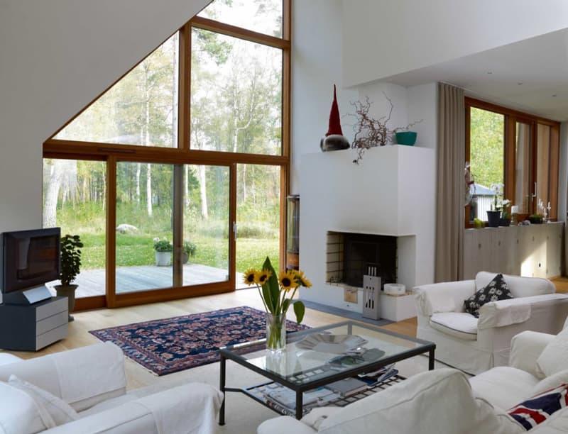 Элитные деревянные шведские окна Hajom