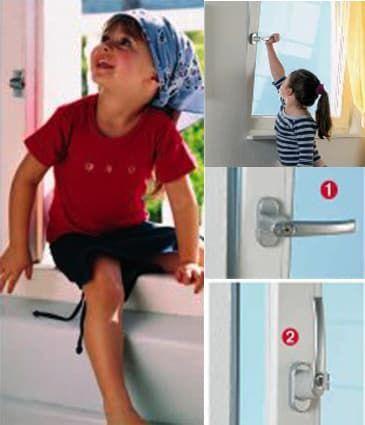 фурнитура Roto TiltFirst – детская безопасность