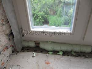 Штапики и стеклопакет в деревянном окна