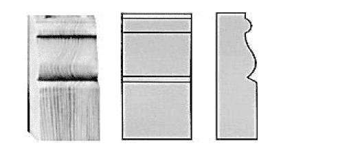 Немецкие деревянные окна с капителями
