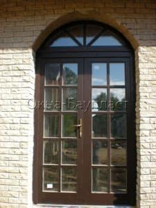 Нестандартные окна из дерева