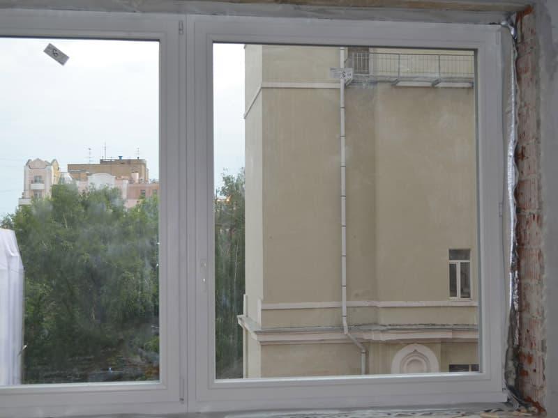 Деревянное окно из Польши Sokolka Elite 92 из сосны