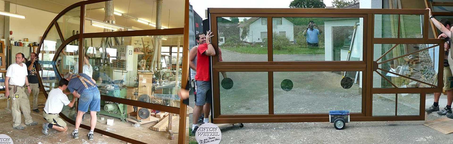 Деревянные окна фабрики Anton Wetzel GmbH