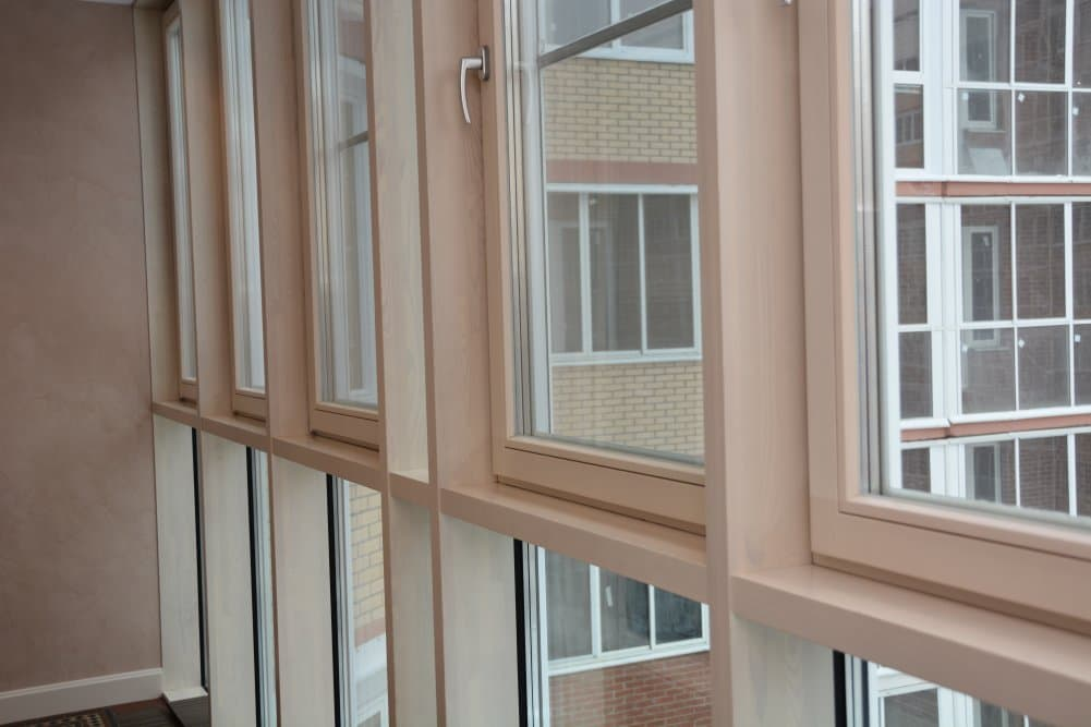 Фасад из алюминиевого профиля