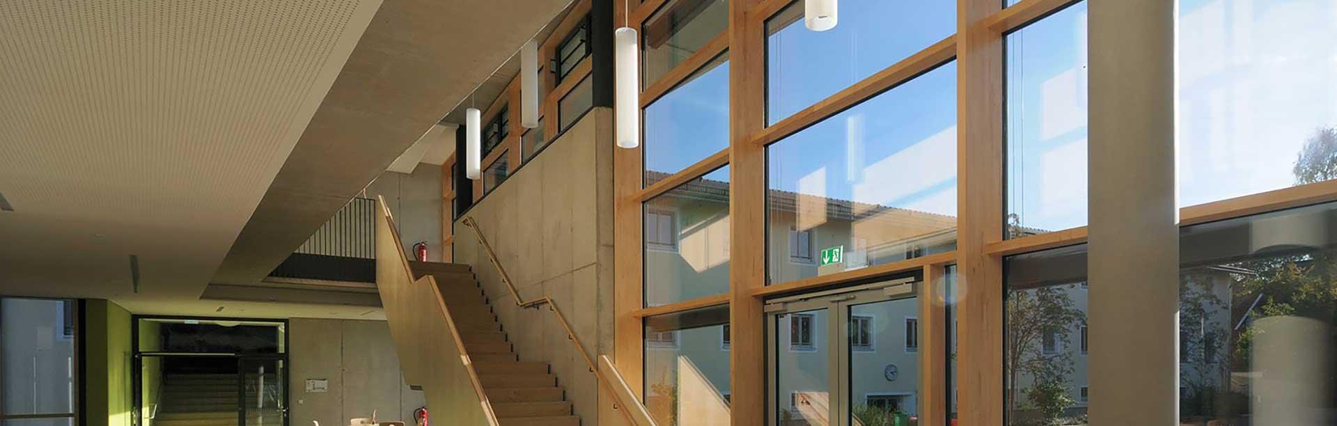 фасад из деревянного профиля