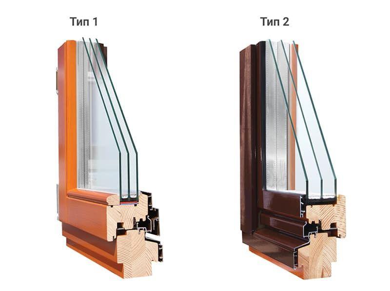 Дерево-алюминиевые окна – союз красоты и надежности