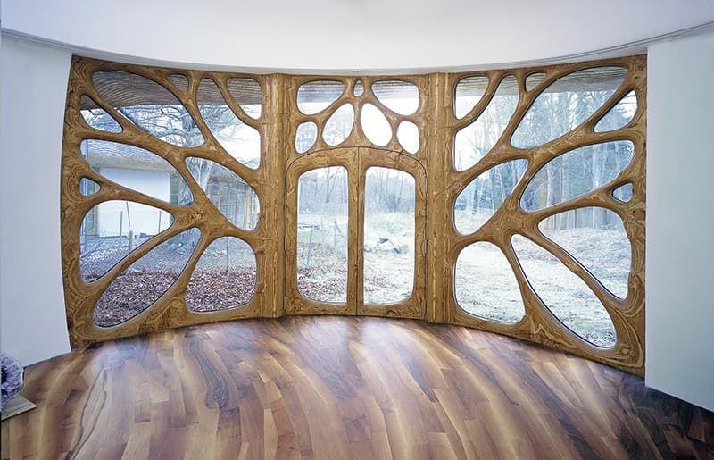 Деревянные криволинейные окна