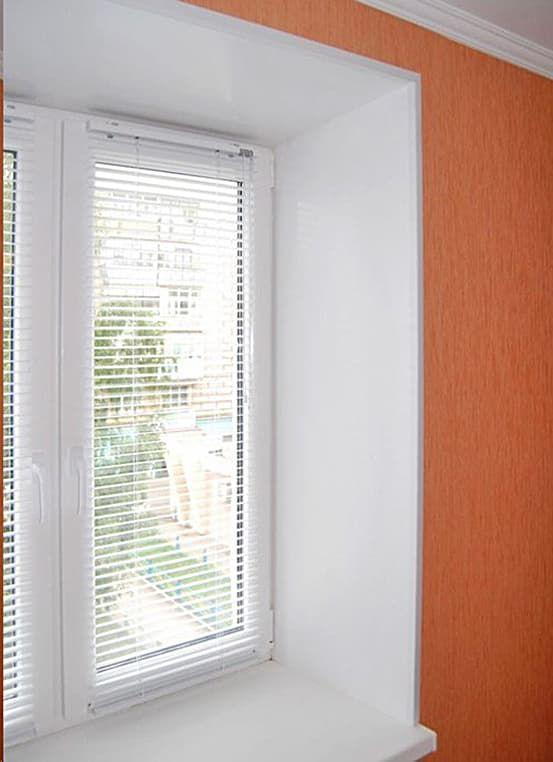 Откосы из гипсокартона на окна
