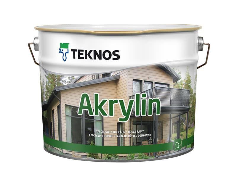 Краска для деревянных окон Teknos