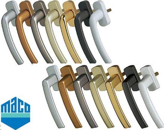 Фурнитура MACO для деревянных окон