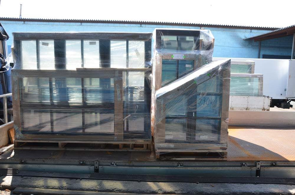 Доставка деревянных окон