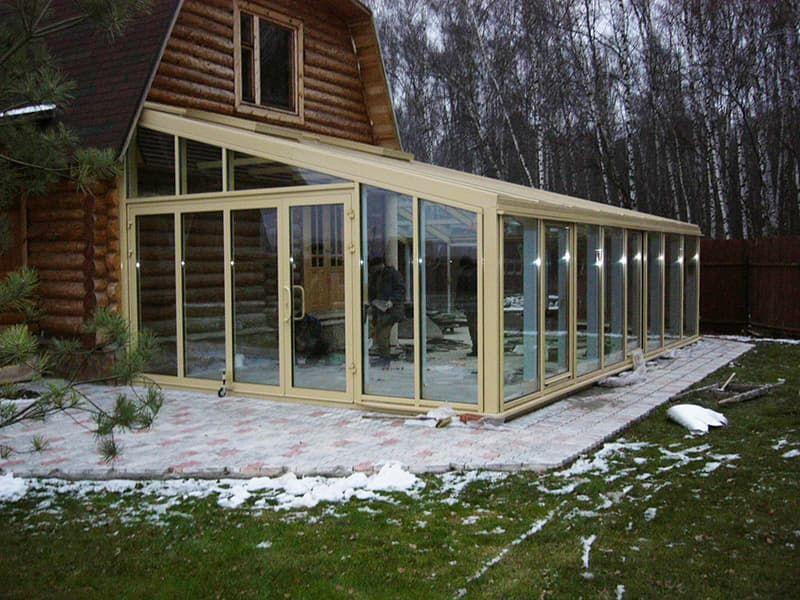 Зимние сады и террасы