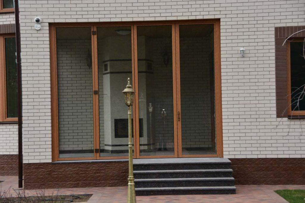"""Деревянные двери """"гармошкой"""" FS-Portal"""