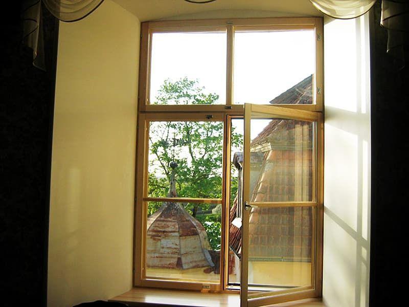 Финские деревянные окна Lammin