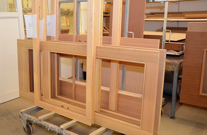 процесс производства деревянных окон компании ОкнаБау