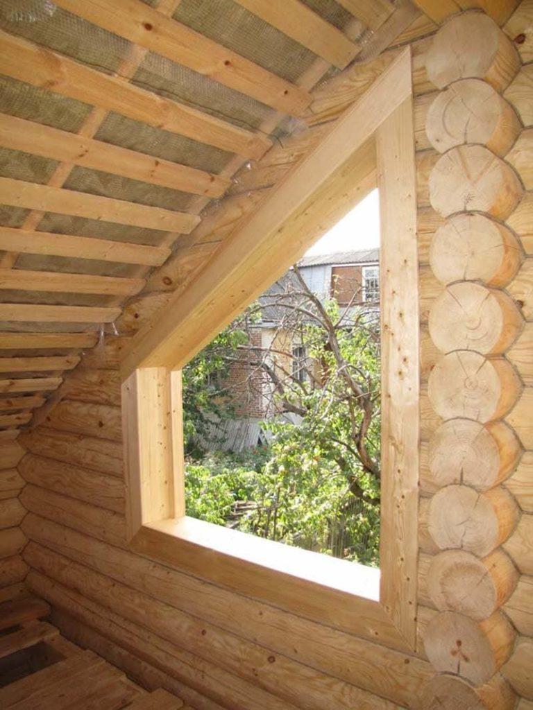 Обсада для деревянных окон