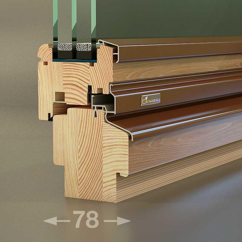 Деревянное окно Holz Bau