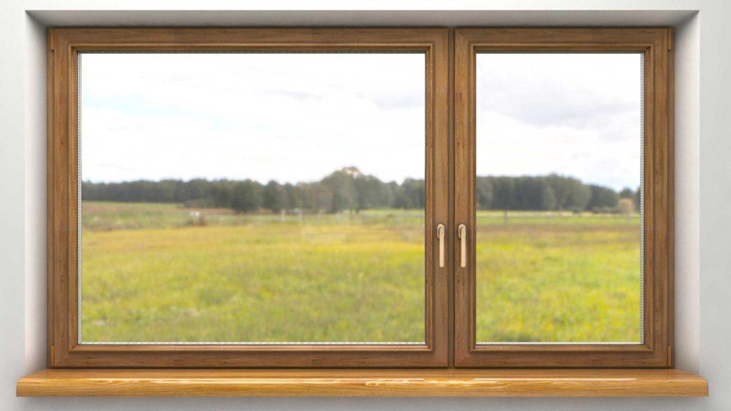 HOLZ BAU ALU — Дерево-алюминиевое окно