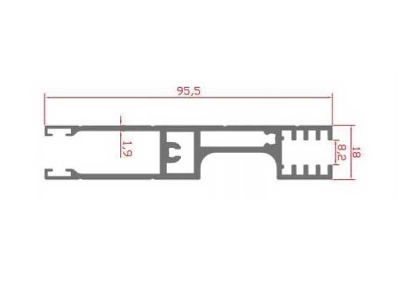 RS 110 - сварочный профиль 8 мм