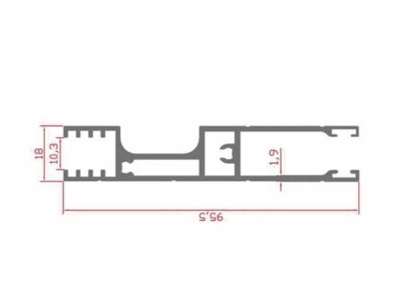 RS 111 - сварочный профиль 10 мм