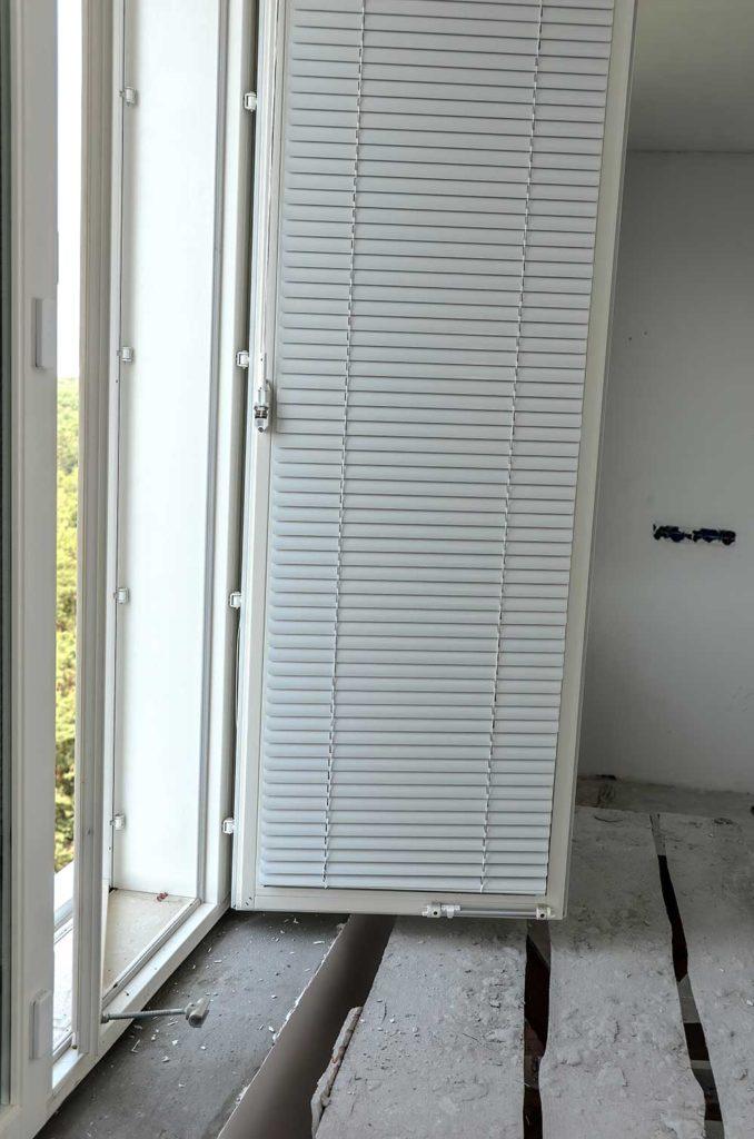 Остекление дома финскими двухрамными окнами