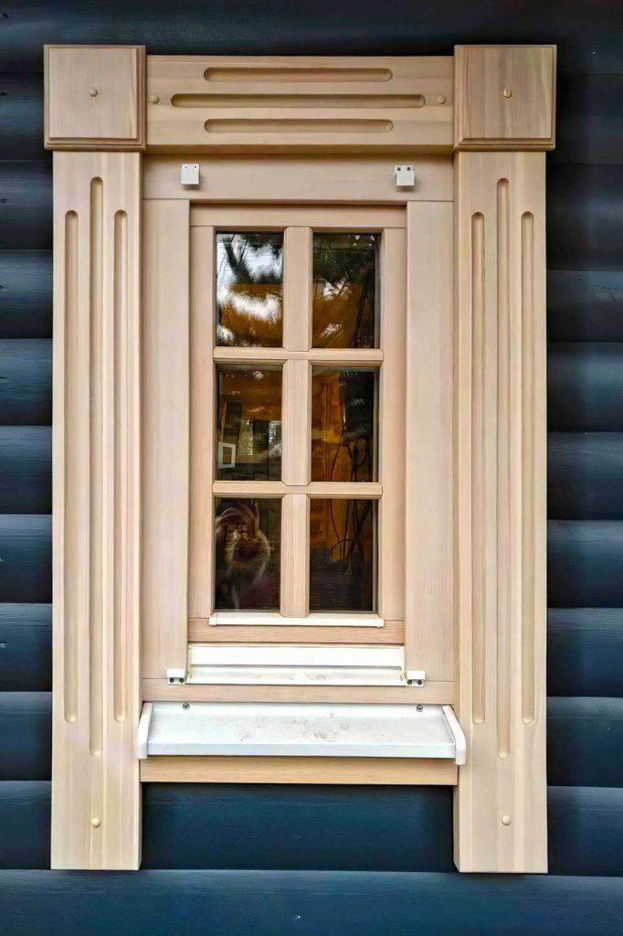 Остекление дома в д. Борзые