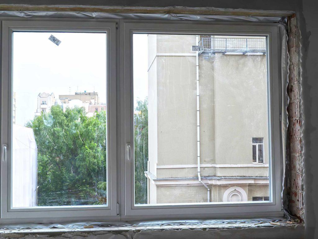 Замена окон в квартире в центре Москвы