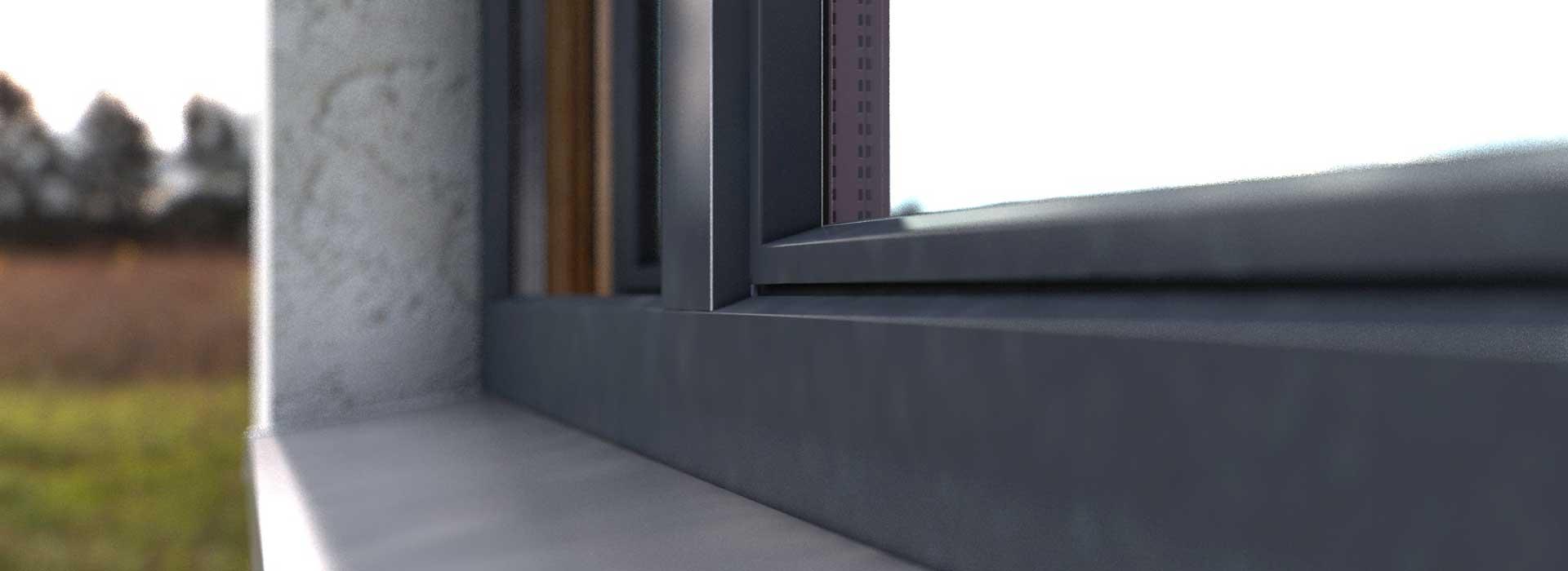 HOLZ BAU ALU - Дерево-алюминиевое окно