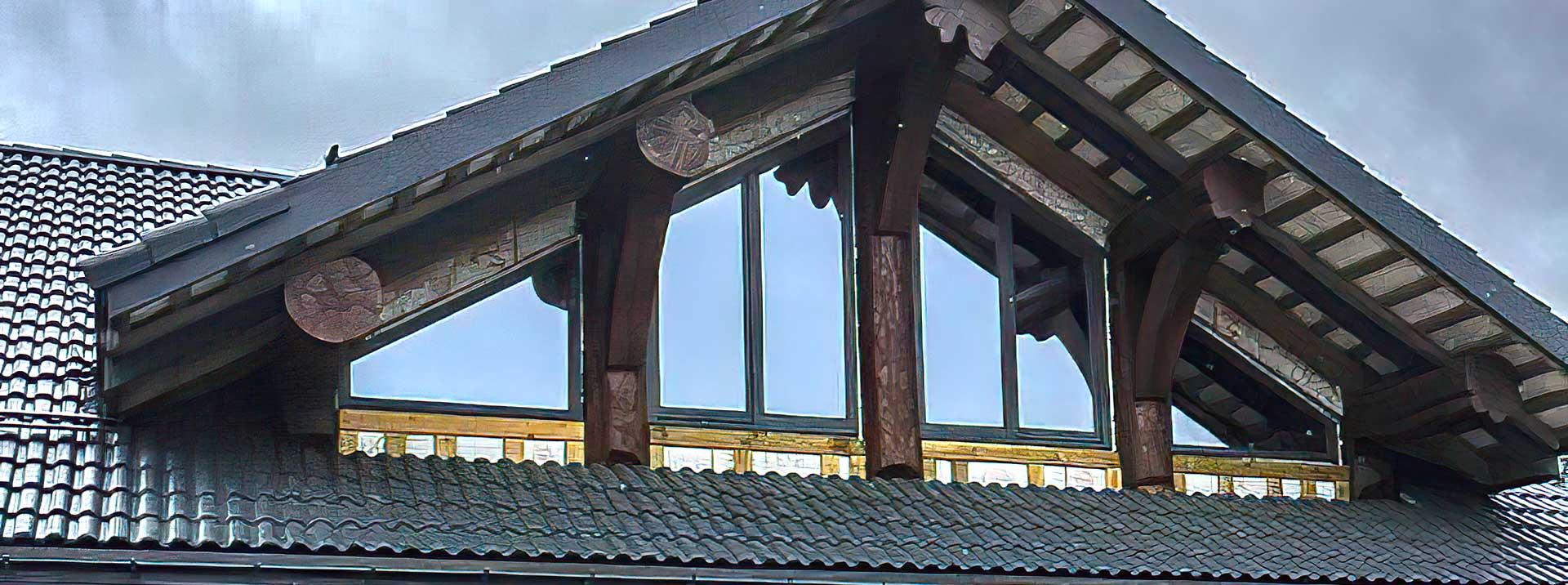 Окна из дуба в обсаде Н. Новгород