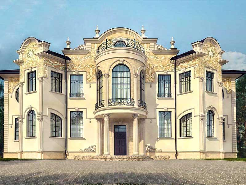 классический особняк