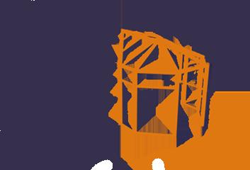 Т-образная форма зимнего сада