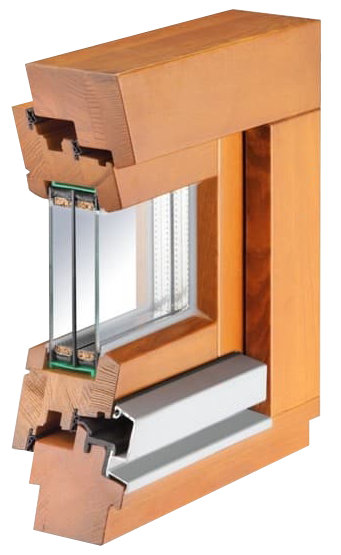 деревянное европейское окно