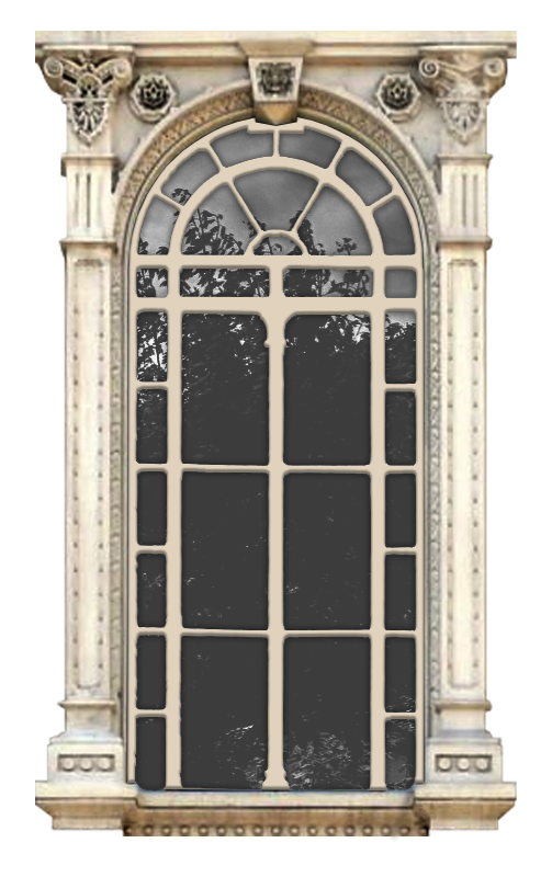 окно в стиле барокко