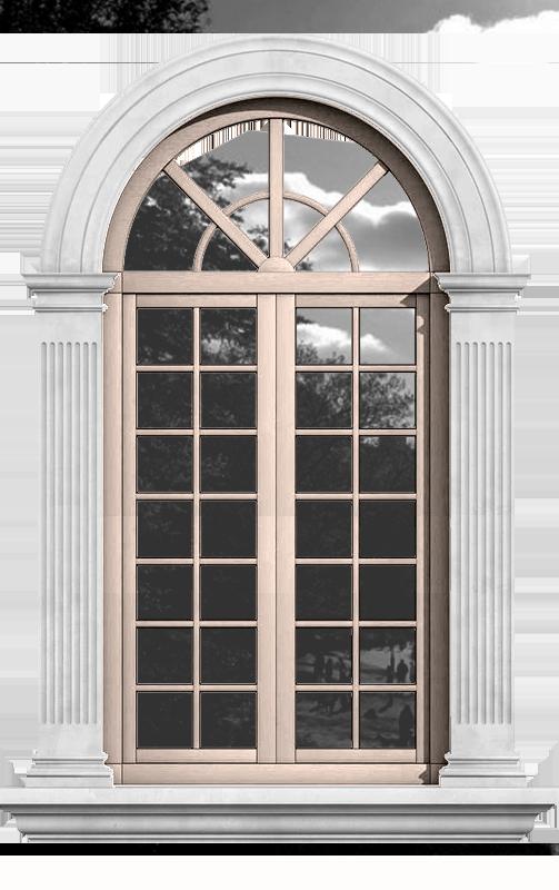 окно в стиле классицизм