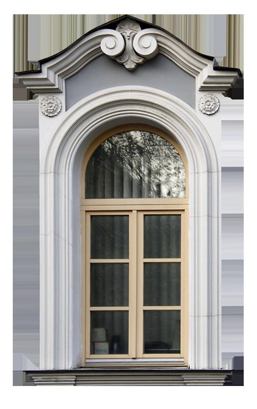 окно в стиле рококо