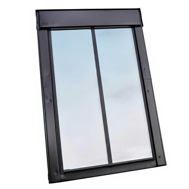 мансардное двухстворчатое окно