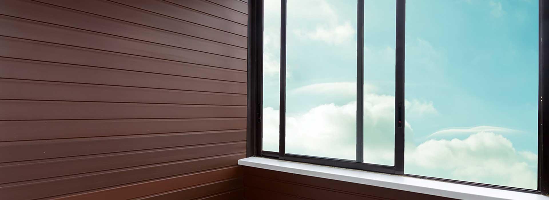 балконные сдвижные окна