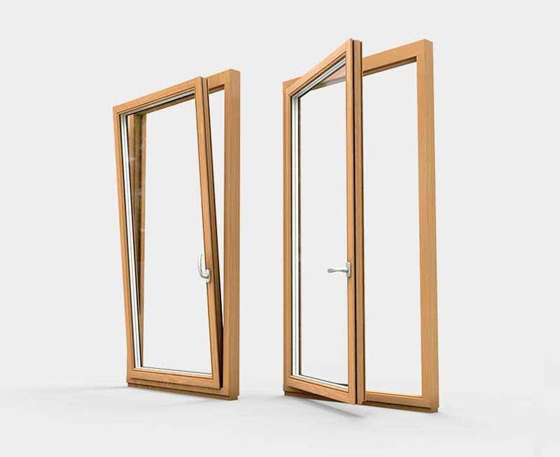 Поворотно откидные (стандартные) окна