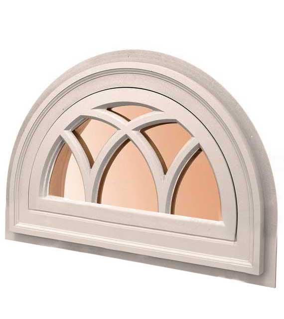 полукруглое окно раскладка дуги