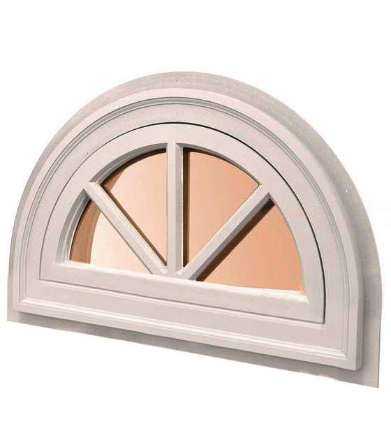 полукруглое окно раскладка полколеса