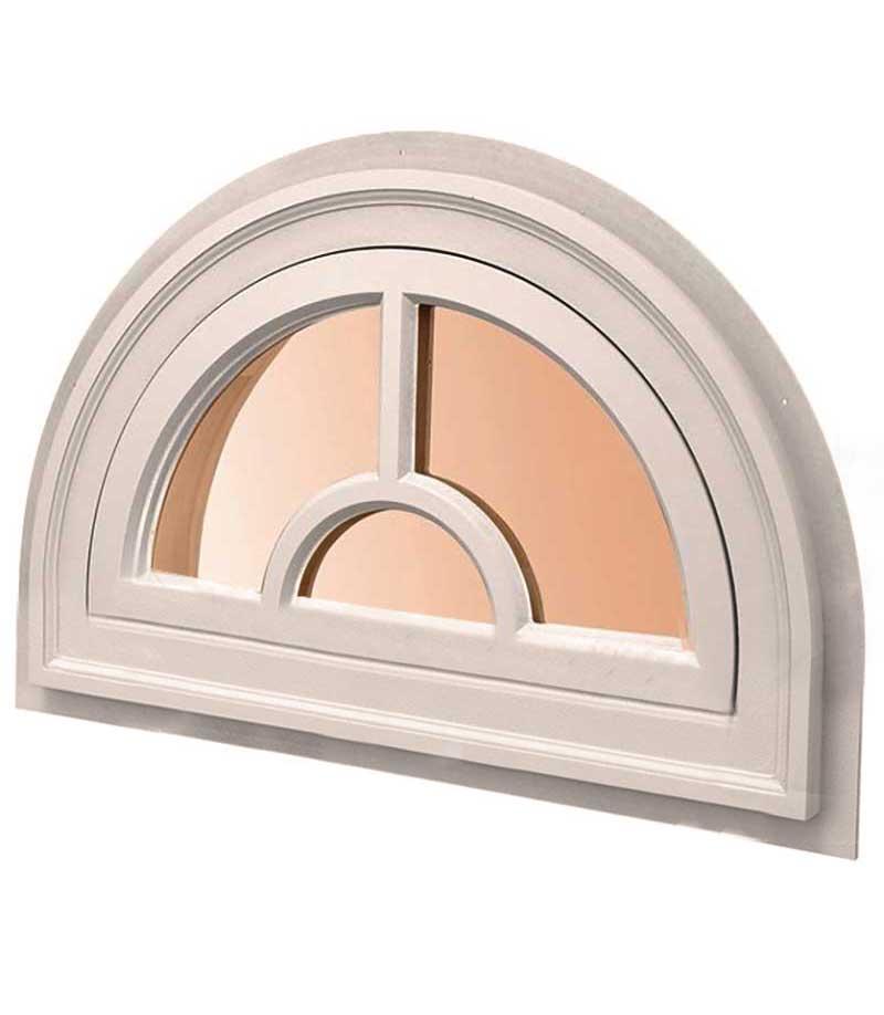 полукруглое окно раскладка перемычка с полукругом